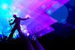 Rockstar performing in Music Concert