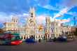 Palacio de Comunicaciones and Cibeles Fountain, Madrid