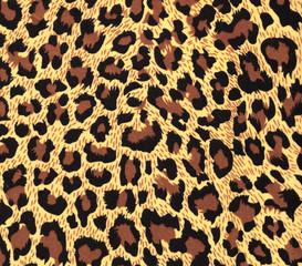 leopard fur as background