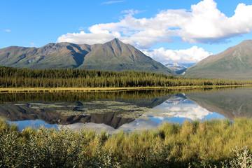 See und Gebirge in Alaska