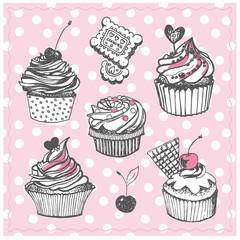 Cupcakes al tratto