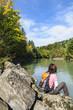Relaxen im Flussufer