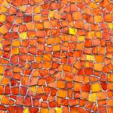Mosaik rot orange