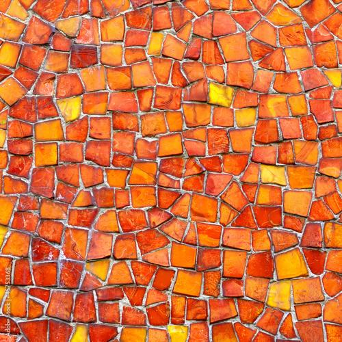 mozaika-czerwona-pomarancza