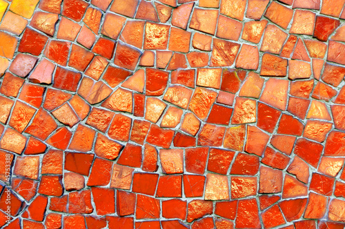 Mosaik rot orange