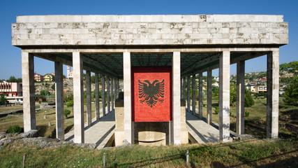 Skanderbeg Mausoleum In Lezhe - Albania