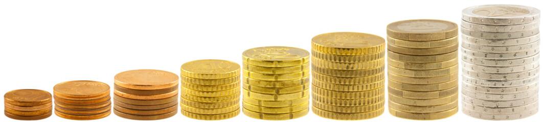 pièces d'euros