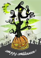 halloween vector card 6