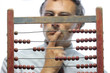 accountant with abacus