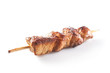 marinated chicken skewer