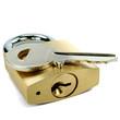 Vorhängeschloss und Schlüssel 02