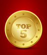 golden top five