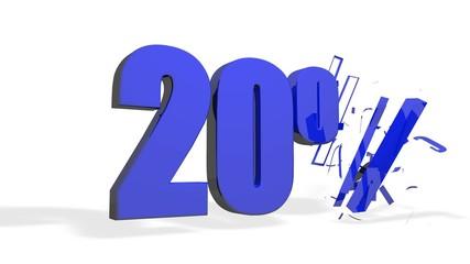 Saldi 20%