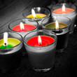 Detaily fotografie candles b/w & colors