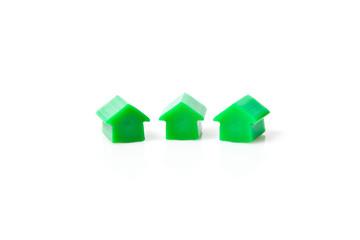 Drei kleine Häuser