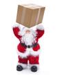 Nikolaus mit Paket