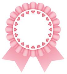coccarda rosa