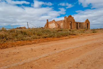 Farina old abandoned town, South Australia