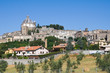 Panoramic view of Montefiascone. Lazio.  Italy.
