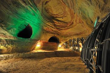 Saarland Homburg Schloßberghöhlen