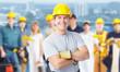 Construction worker man.