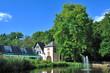 canvas print picture - Burg in Saarland Kerpen