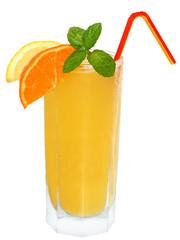 Tangerine and lemon juice