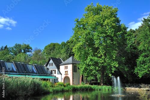 canvas print picture Burg in Saarland Kerpen