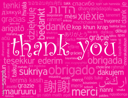 """THANK YOU"" Card (thanks a lot very much message greetings love)"