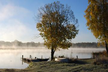 Höst på sjön