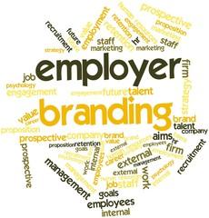 Word cloud for Employer Branding