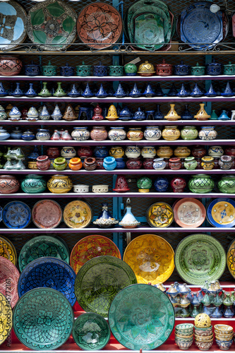 Ceramics in Chefchaouen