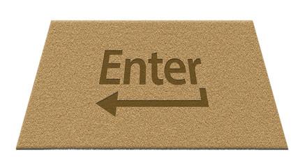 'Enter' Doormat