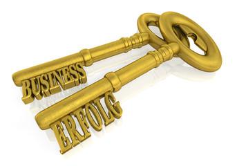 Erfolgsschlüssel - Erfolg im Business