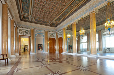 Interior of Stroganov Palace