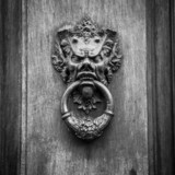 Devil Head Door Knocker