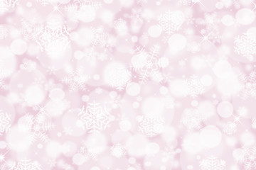 pink snowflake backdrop