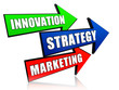 innovation, strategy and marketing in arrows