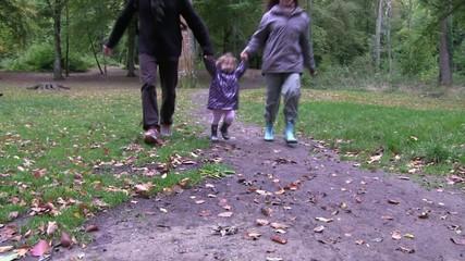 courir en famille