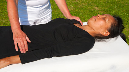 Polarity massage