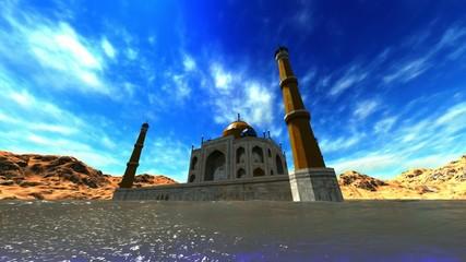 Mysterious Taj Mahal