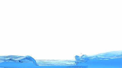 Liquid fluid simulation