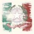 Grunge-Flagge Italien