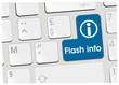 clavier flash info