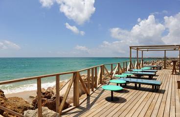 Chiringuito junto al mar, Algarve