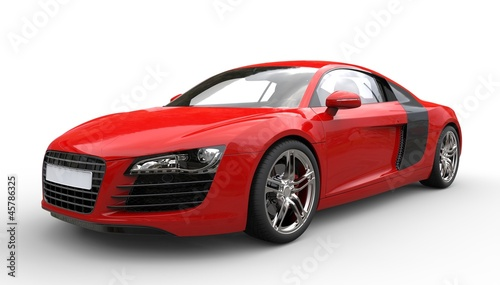 Red Supercar 1