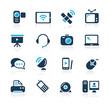 Communication Icons  // Azure Series