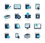 Fototapety Book Icons // Azure Series
