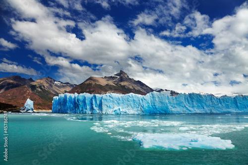 Tuinposter Gletsjers Perito Moreno Glacier, Argentino Lake, Patagonia, Argentina