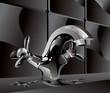 metal water faucet